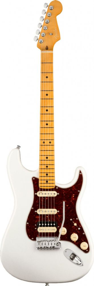 Fender American Ultra Stratocaster HSS, Arctic Pearl